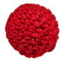 1 inch Crochet Ball Non Magnetic, Red by Ickle Pickle Products, Inc.