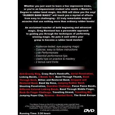 Rubber Band Magic 2 Dvd Set By Greg Moreland Stevens Magic Global