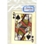 Flash Poker Card Queen of Spades, Ten Pack