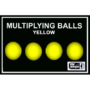 Multiplying Balls, Yellow Plastic by Mr. Magic