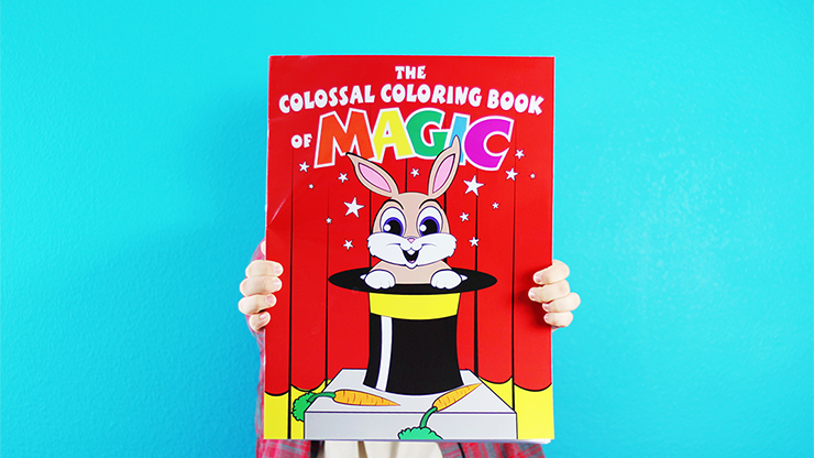 Colossal Magic Coloring Book by Danny Orleans | Stevens Magic Global