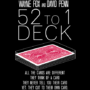 The 52 to 1 Deck, Gimmicks and Online Instructions by Wayne Fox and David Penn