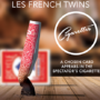 CIGARETTES, Blue by Les French TWINS